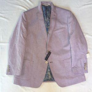 Van Heusen Studio Mens Blazer Lilac Size 44